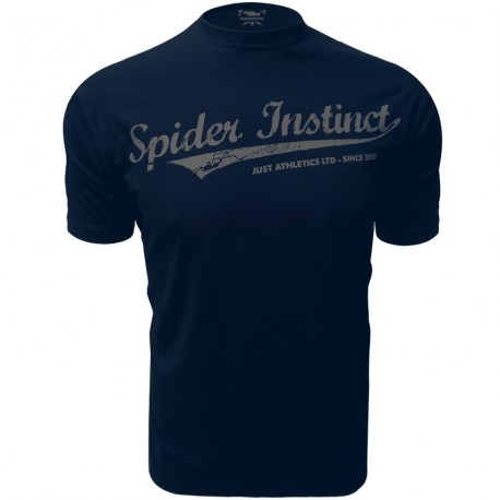 T-Shirt Spider Instinct - Label OS - Bleu