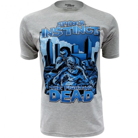 T-Shirt Spider Instinct - The Fighting Dead