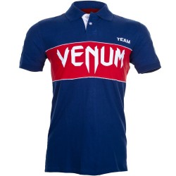 Polo Venum Team - Marine et Rouge